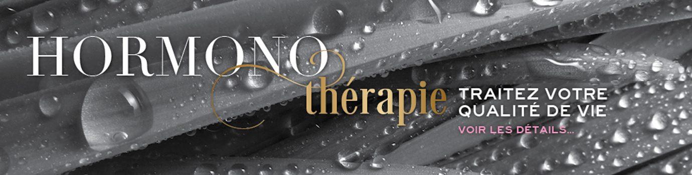Bannière Hormono thérapie de la Clinique antiaging Montréal