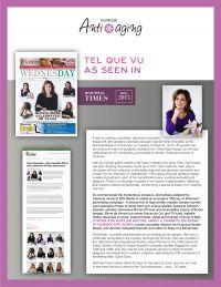Articles à propos de la clinique Antiaging de Montréal de Dre Cynthia Stolovitz dans le magazine Montréal Times