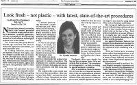 Articles à propos de la clinique Antiaging de Montréal de Dre Cynthia Stolovitz dans The canadian jewish news