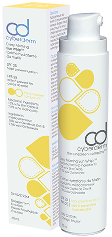 Cyberderm Sunscreen clinique anti aging de Montréal